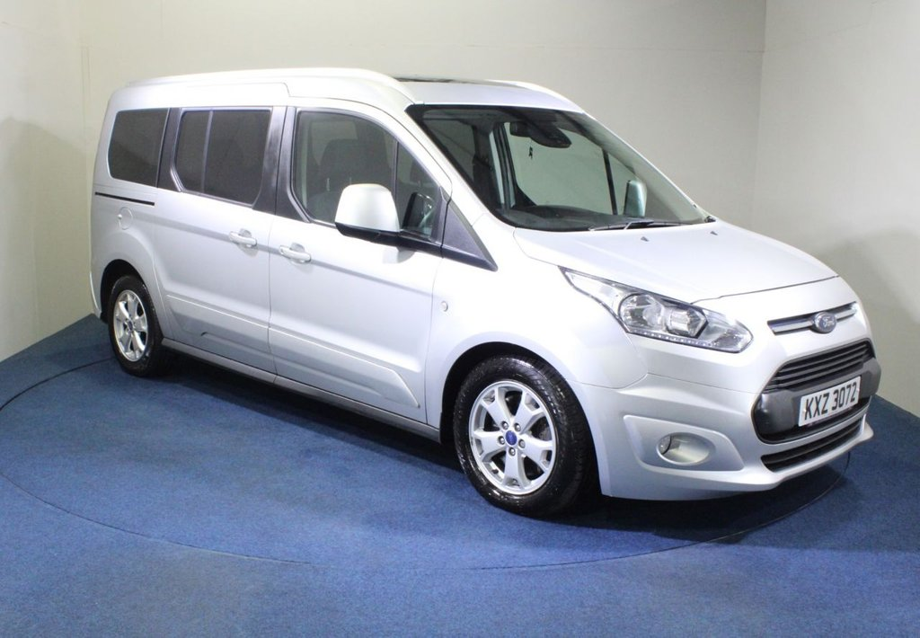 USED 2017 17 FORD GRAND TOURNEO CONNECT 1.5 TITANIUM TDCI 5d 118 BHP WHEELCHAIR ACCESS VEHICLE