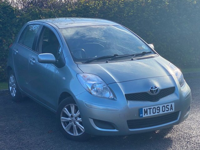 USED 2009 09 TOYOTA YARIS 1.3 TR VVT-I 5d 99 BHP GOOD VALUE FOR MONEY STARTER CAR