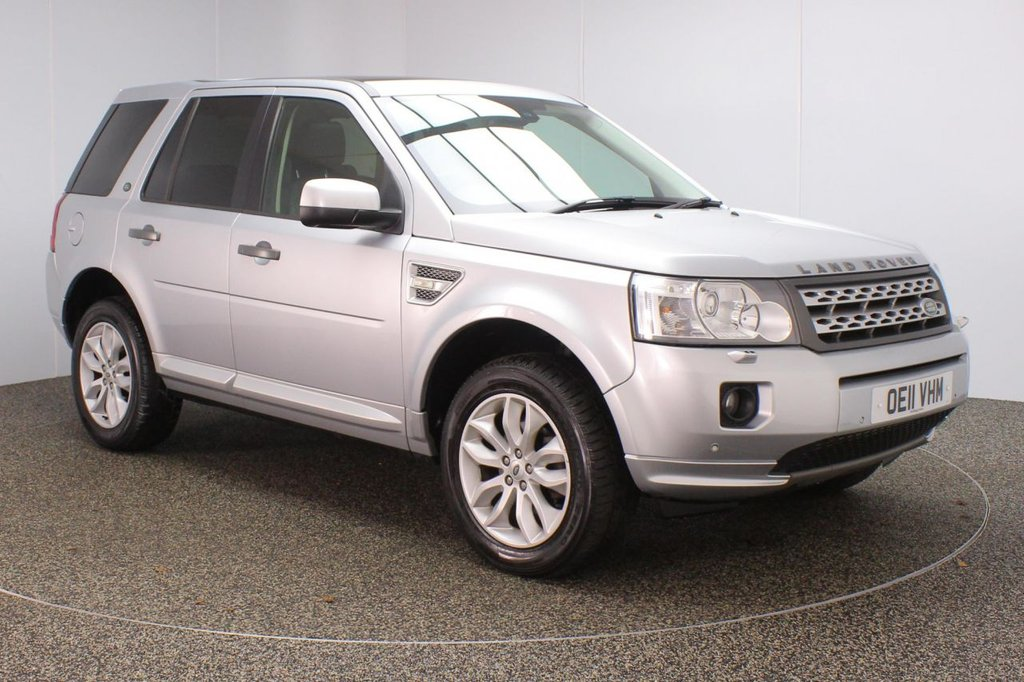 USED 2011 11 LAND ROVER FREELANDER 2.2 SD4 HSE 5DR AUTO 190 BHP HEATED LEATHER SEATS + PANORAMIC ROOF + SATELLITE NAVIGATION + PARKING SENSOR + BLUETOOTH + CRUISE CONTROL + CLIMATE CONTROL + HEATED STEERING WHEEL + ELECTRIC FRONT SEATS + DAB RADIO + ELECTRIC WINDOWS + ELECTRIC/HEATED/FOLDING DOOR MIRRORS + ALLOY WHEELS
