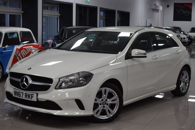 USED 2018 67 MERCEDES-BENZ A-CLASS 1.5 A 180 D SPORT EXECUTIVE 5d 107 BHP STUNNING NEARLY NEW MERC A-CLASS! MUST BE SEEN!