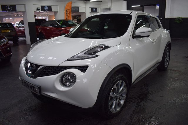 USED 2014 64 NISSAN JUKE 1.6 TEKNA DIG-T 5d 190 BHP LOVELY CONDITION - TOP TEKNA DIG-T SPEC - 1.6 - LEATHER - NAV - REVERSE CAMERA - HEATED SEATS