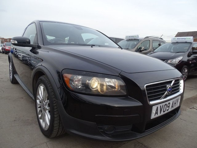 USED 2009 09 VOLVO C30 1.6 D SE 3d 110 BHP DRIVES WELL A1