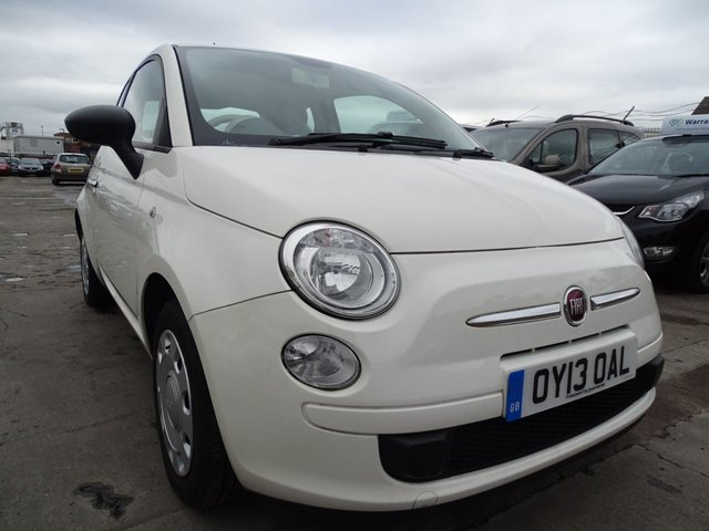 USED 2013 13 FIAT 500 1.2 POP 3d 69 BHP £30 ROAD TAX FOR THE YEAR