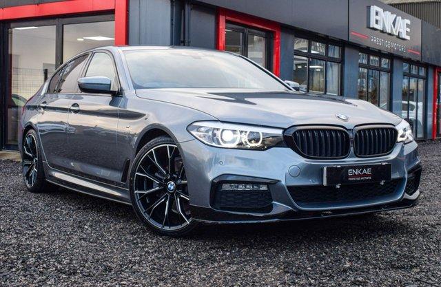 2017 17 BMW 5 SERIES 2.0 520D M SPORT 4d 188 BHP VAT QUALIFYING