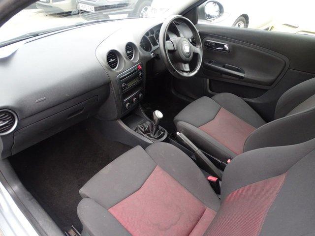 USED 2007 56 SEAT IBIZA 1.4 SPORT 16V 3d 85 BHP LOW MILES