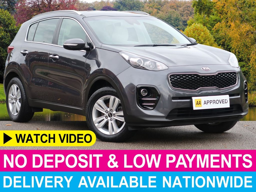 USED 2017 66 KIA SPORTAGE 1.7 CRDI ISG 2 5dr Sat Nav Apple Car Play Sat Nav Apple Car Play PDC