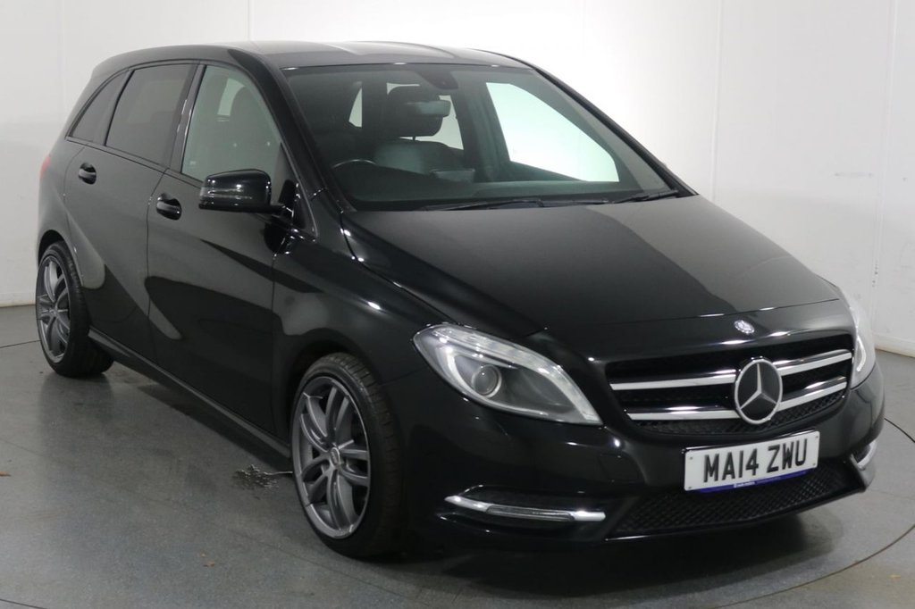 USED 2014 14 MERCEDES-BENZ B-CLASS 1.8 B200 CDI BLUEEFFICIENCY SPORT 5d 136 BHP Dealer and ONE LADY OWNER with 5 Stamp SERVICE HISTORY