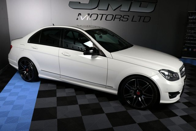 USED 2013 MERCEDES-BENZ C-CLASS 2013 MERCEDES C220 CDI BLUEEFFICIENCY AMG SPORT PLUS NIGHT EDITION STYLE 168BHP (FINANCE AND WARRANTY)