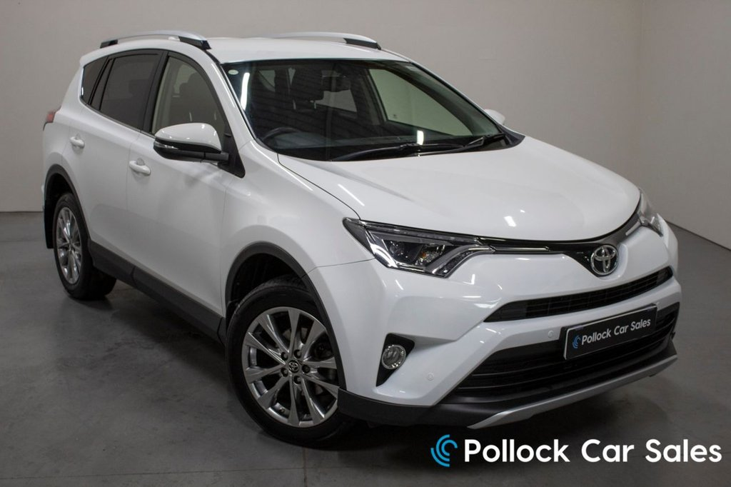 USED 2017 TOYOTA RAV4 2.0 D-4D EXCEL 5d 143 BHP Top of the Range, Excellent Condition