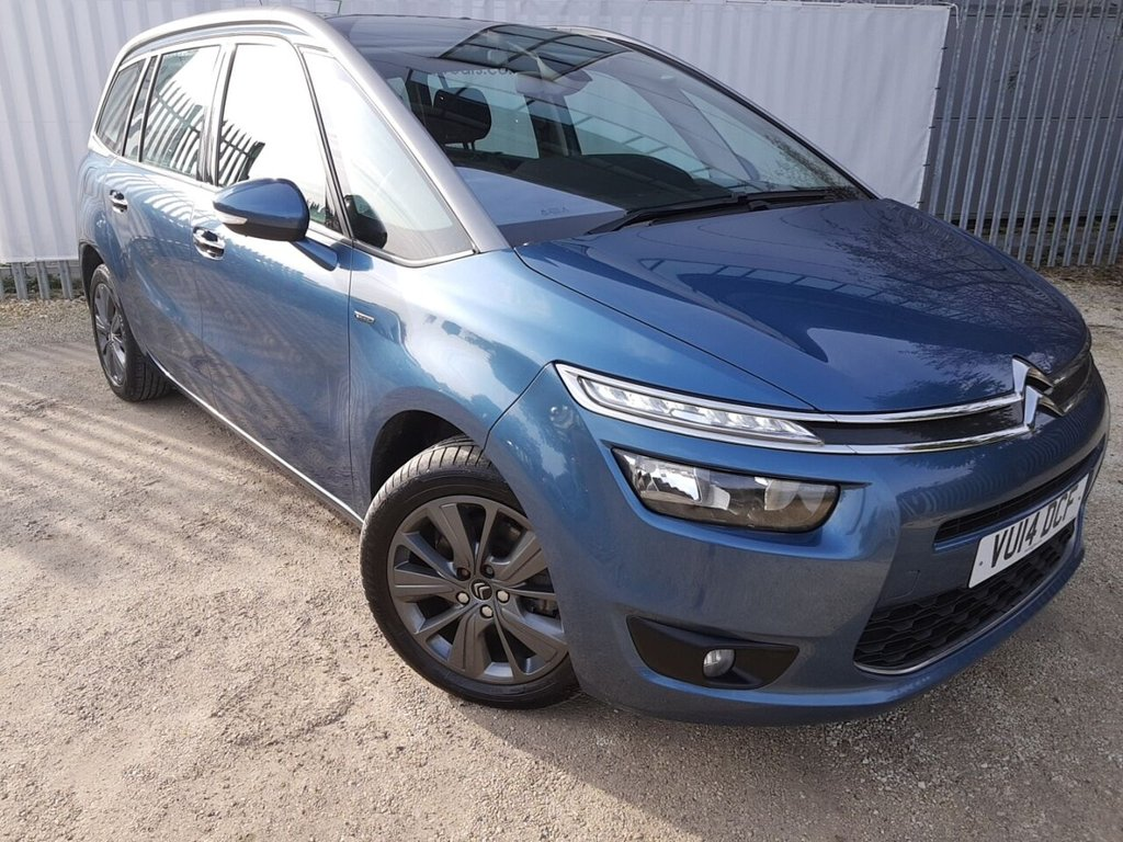 USED 2014 14 CITROEN C4 GRAND PICASSO 2.0 BLUEHDI EXCLUSIVE 5d 148 BHP