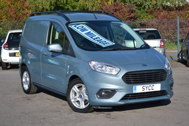 USED 2019 19 FORD TRANSIT COURIER 1.5 LIMITED TDCI 99 BHP PLY LINED ~ AIR CON ~ HFS ~ BALANCE OF FORD WARRANTY