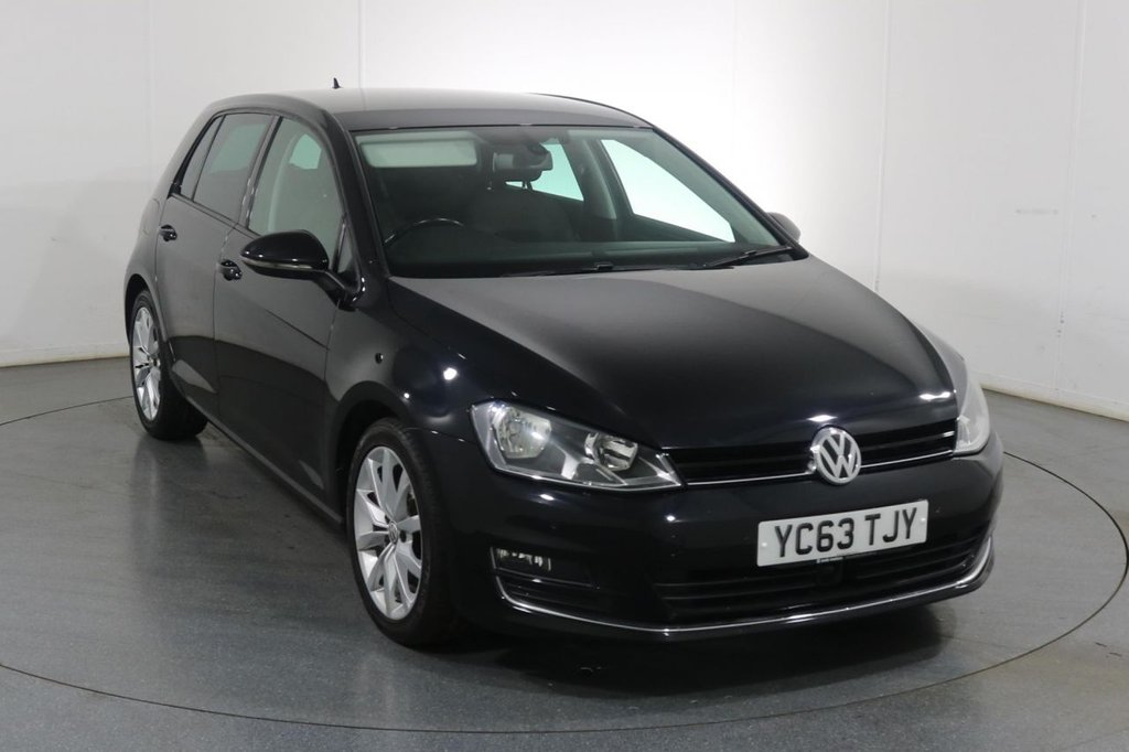 USED 2013 63 VOLKSWAGEN GOLF 2.0 GT TDI BLUEMOTION TECHNOLOGY DSG AUTO 5d 148 BHP 3 OWNERS with 6 Stamp SERVICE HISTORY