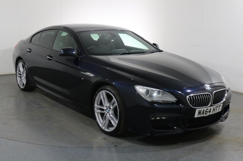 USED 2014 64 BMW 6 SERIES GRAN COUPE 3.0 640D M SPORT GRAN COUPE 4d 309 BHP 2 OWNERS with SERVICE HISTORY
