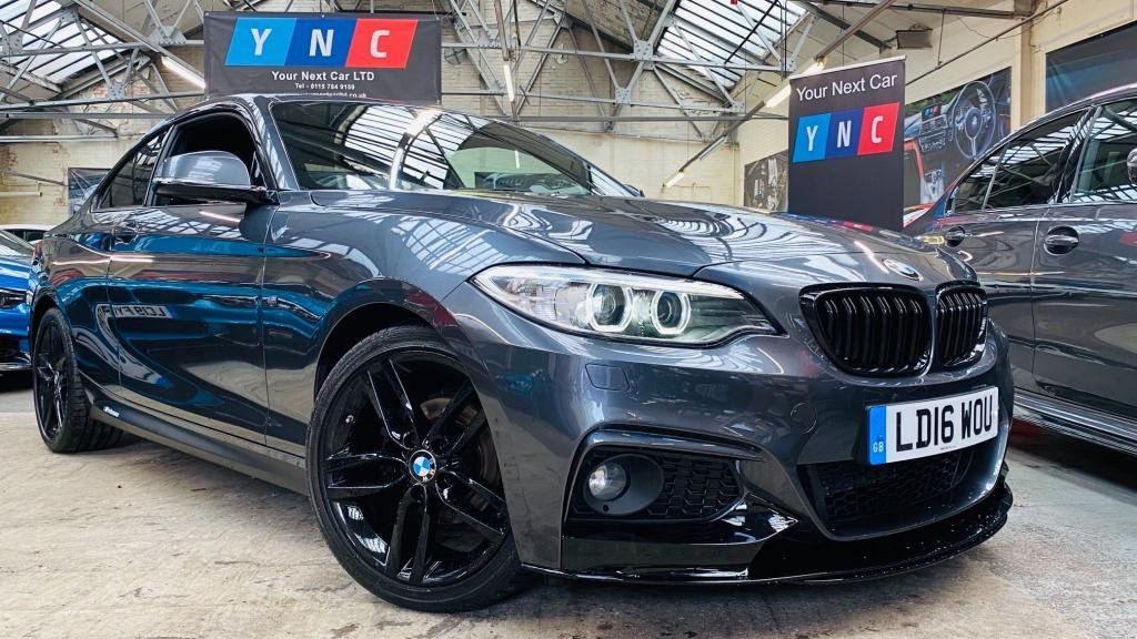 USED 2016 16 BMW 2 SERIES 2.0 218d M Sport (s/s) 2dr PERFORMANCEKIT+18S+LTHRSEATS