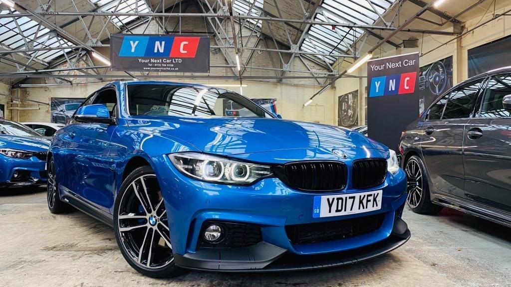 USED 2017 17 BMW 4 SERIES 2.0 420d M Sport Auto (s/s) 2dr PERFORMANCEKIT+COMFORT&MPLUS