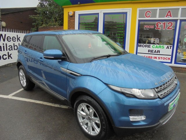 USED 2013 63 LAND ROVER RANGE ROVER EVOQUE 2.2 SD4 PURE TECH 5d 190 BHP * JUST ARRIVED ** **DIESEL AUTOMATIC