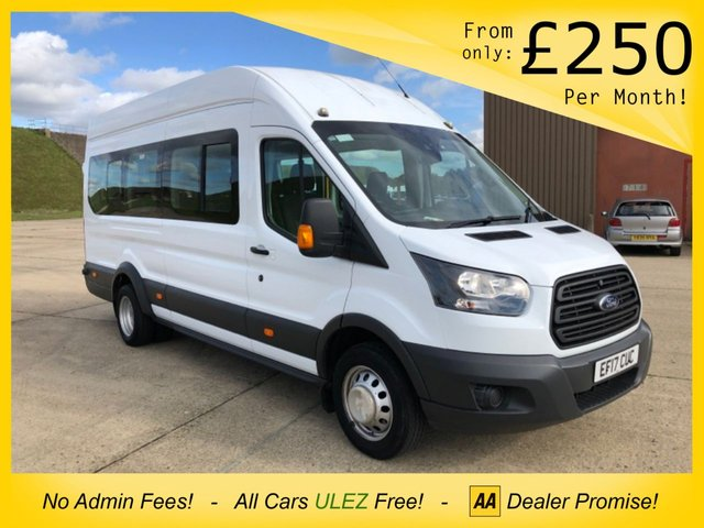 USED 2017 17 FORD TRANSIT 2.2 460 H/R BUS 18 STR 124 BHP