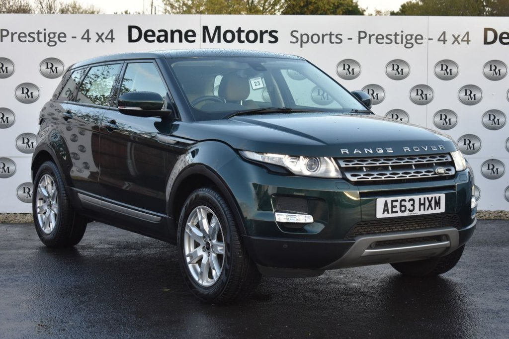 USED 2013 63 LAND ROVER RANGE ROVER EVOQUE 2.2 SD4 PURE TECH 5d 190 BHP PANROOF