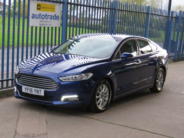USED 2016 16 FORD MONDEO 1.5 TITANIUM ECONETIC TDCI 5dr 114 Sat nav Cruise Bluetooth & audio Alloys Finance arranged Part exchange available Open 7 days ULEX Compliant