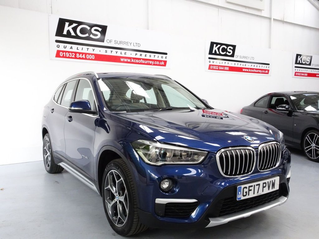 USED 2017 17 BMW X1 2.0 XDRIVE20I XLINE 5d 189 BHP SAT NAV - HEATED LEATHER