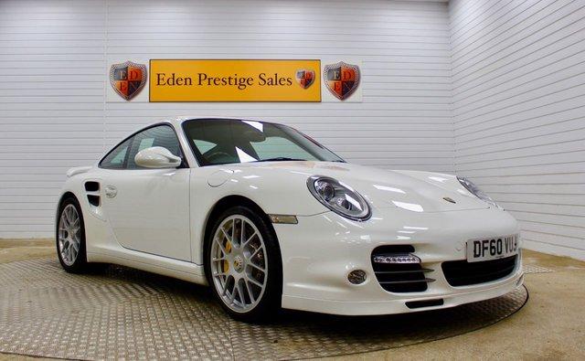 USED 2010 60 PORSCHE 911 3.8 TURBO S PDK 2d 530 BHP