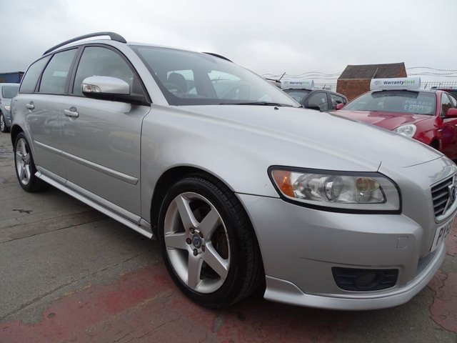 USED 2008 58 VOLVO V50 2.0 SPORT D 5d 135 BHP DRIVES WELL YEAR MOT