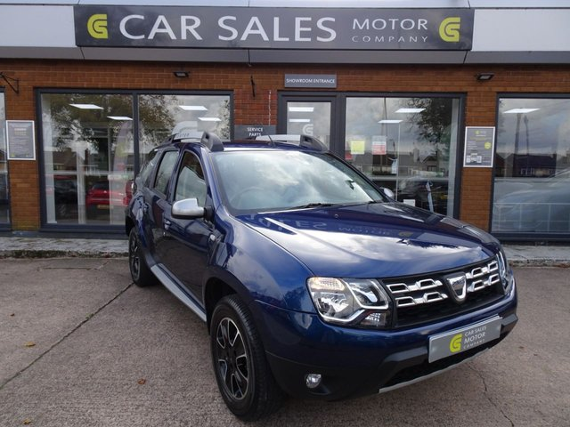 USED 2017 67 DACIA DUSTER 1.5 PRESTIGE DCI 5d 109 BHP ONE OWNER FROM NEW, JUST SERVICED, MOT TILL OCTOBER 2021, SAT NAV, BLUETOOTH, SIX SPEED GEARBOX, REVERSE PARKING CAMERA, HPI CLEAR - 5 STAR RATED DEALERSHIP