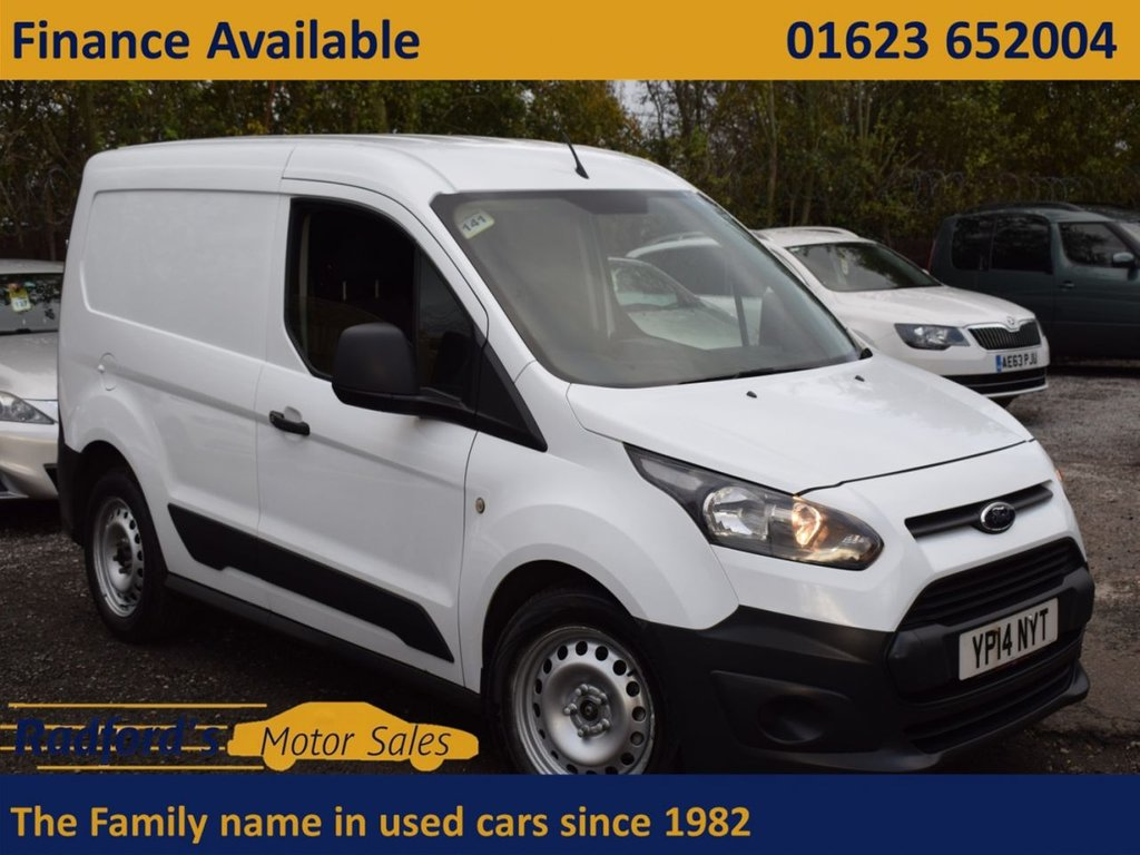USED 2014 14 FORD TRANSIT CONNECT 1.6 200 P/V 74 BHP