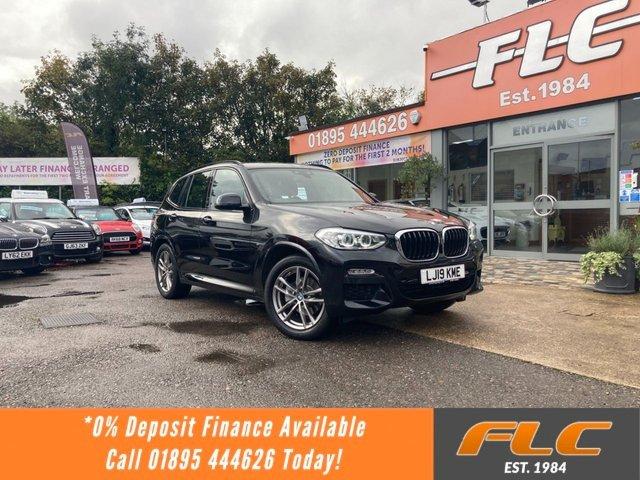 USED 2019 19 BMW X3 2.0 XDRIVE20I M SPORT 5d 181 BHP
