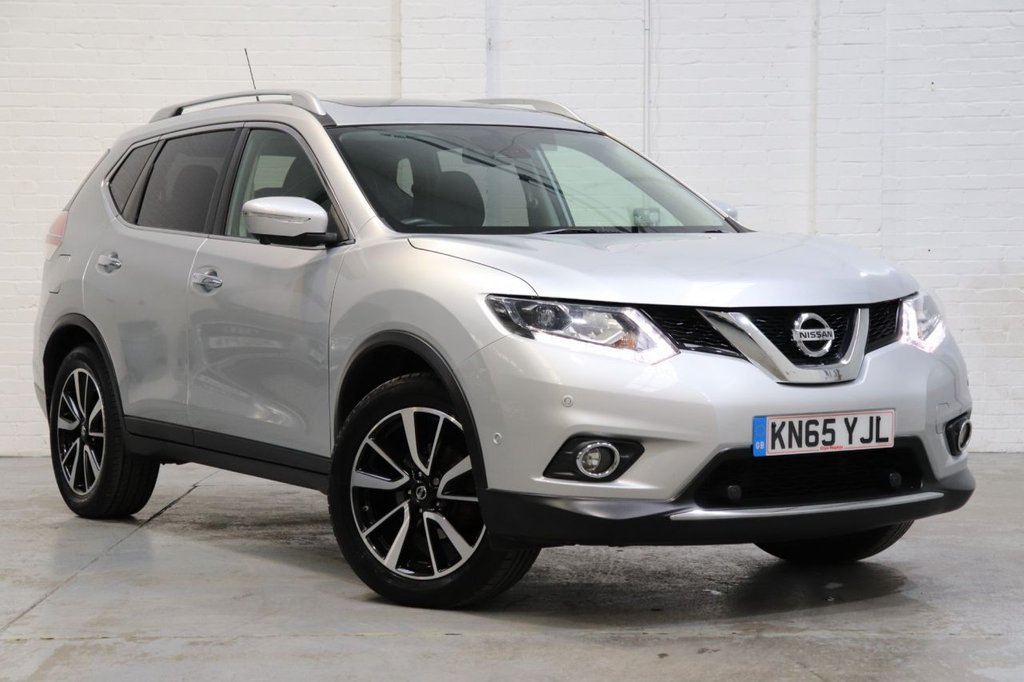 USED 2015 65 NISSAN X-TRAIL 1.6 DCI TEKNA 5d 130 BHP 1 Owner + Satnav + Sunroof + Camera+ Fsh