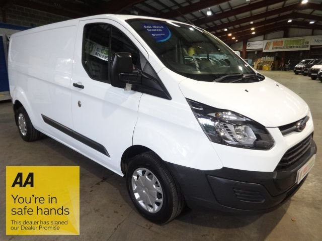 USED 2017 67 FORD TRANSIT CUSTOM 2.0 290 LR P/V 104 BHP L2H1 LWB VAN - EURO 6 - - AA DEALER PROMISE - TRADING STANDARDS APPROVED -