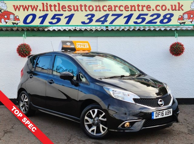 USED 2016 16 NISSAN NOTE 1.2 TEKNA DIG-S 5d 98 BHP
