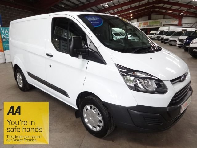 USED 2017 17 FORD TRANSIT CUSTOM 2.0 290 LR P/V 104 BHP L1H1 SWB VAN - EURO 6 - - AA DEALER PROMISE - TRADING STANDARDS APPROVED -