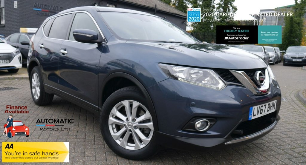 USED 2017 67 NISSAN X-TRAIL 1.6 DCI ACENTA XTRONIC 5d 130 BHP