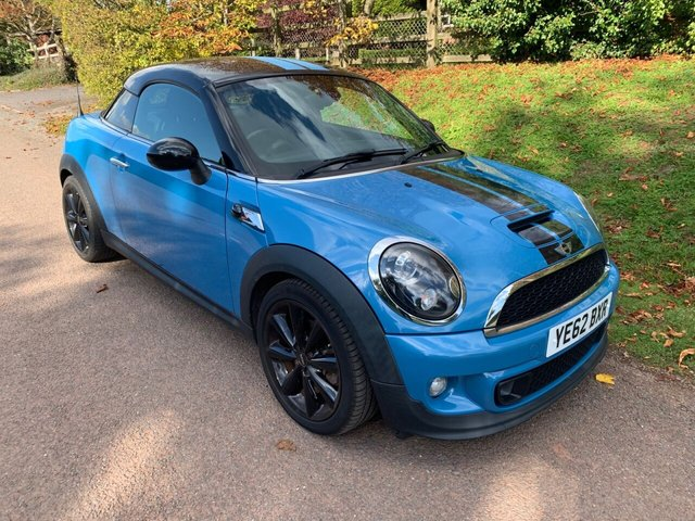 USED 2012 62 MINI COUPE 2.0 COOPER SD 2d 141 BHP ** MOT ** FULL SERVICE HISTORY ** £30 ROAD FUND **
