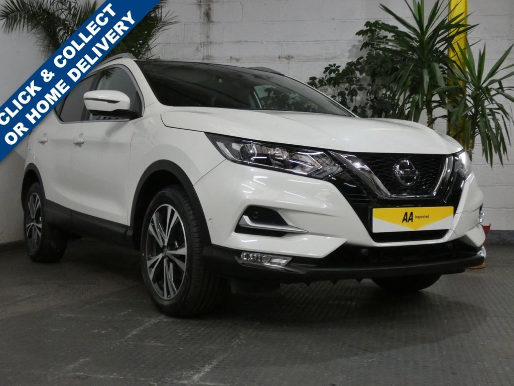 USED 2019 19 NISSAN QASHQAI 1.3 DIG-T N-CONNECTA 5d 140 BHP SAT NAV PANORAMIC ROOF