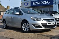 USED 2014 14 VAUXHALL ASTRA 1.6 DESIGN 5d 115 BHP FINANCE FROM £129 PER MONTH £0 DEPOSIT