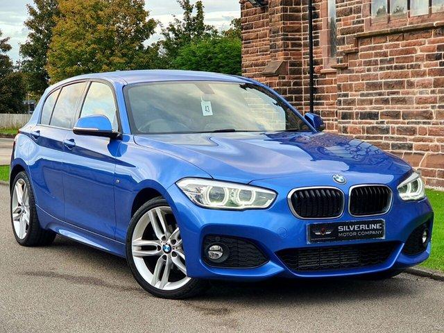 2016 66 BMW 1 SERIES 2.0 118D M SPORT 5d 147 BHP