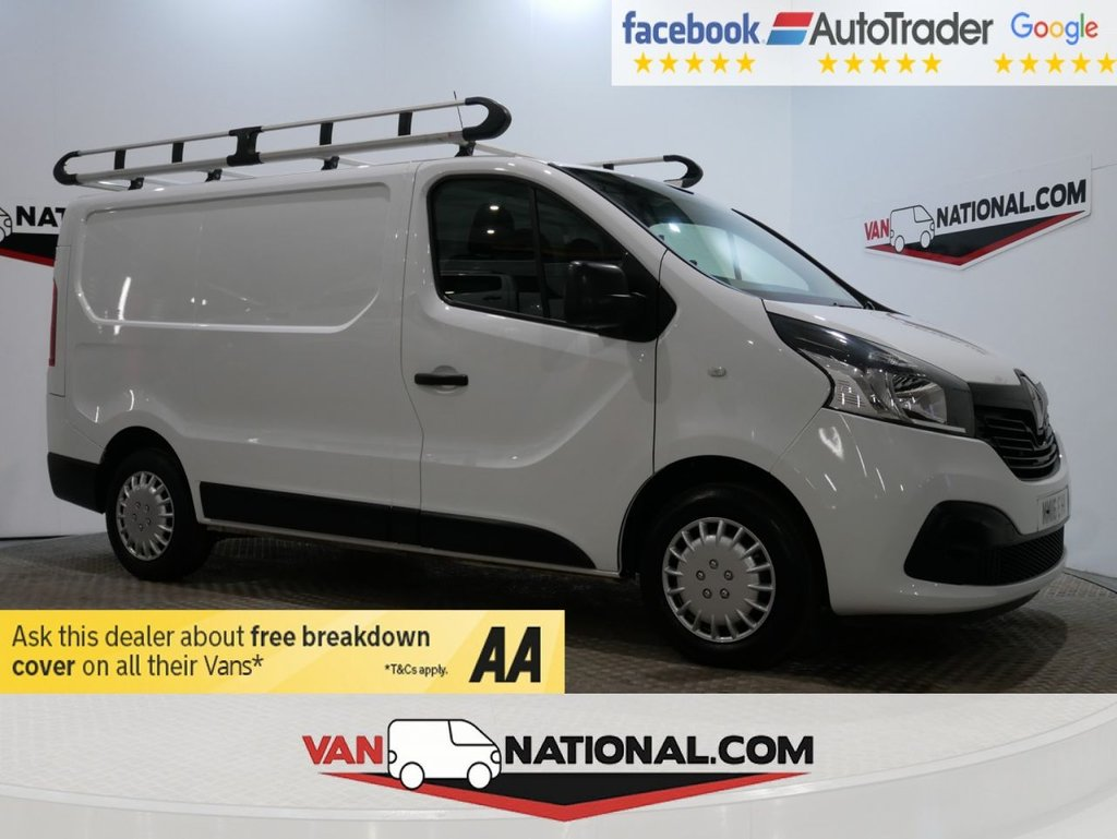 USED 2016 16 RENAULT TRAFIC 1.6 SL27 BUSINESS PLUS ENERGY DCI S/R P/V 120 BHP (SWB *AIR CON * ROOF RACK*) * ONE OWNER * AIR CON * DAB * ZERO DEPOSIT FINANCE AVAILABLE *