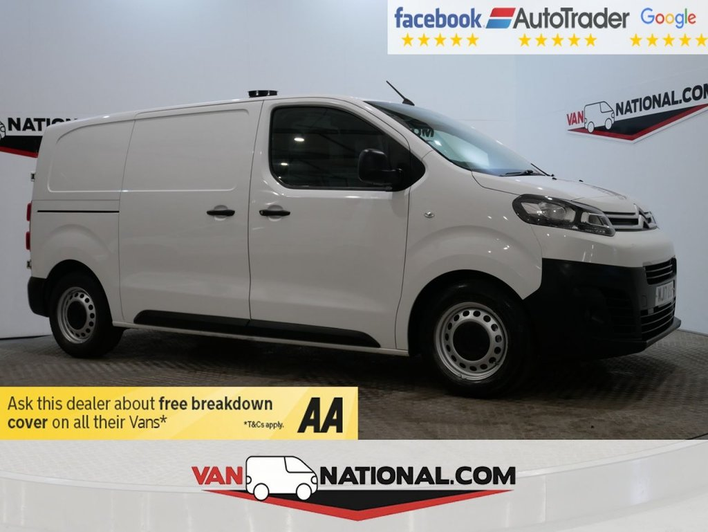 USED 2017 17 CITROEN DISPATCH 1.6 M 1000 ENTERPRISE BLUEHDI S/S 115 BHP * AIRCON * EURO 6 * * ONE OWNER * EURO 6 * AIR CON * ZERO DEPOSIT FINANCE AVAILABLE *