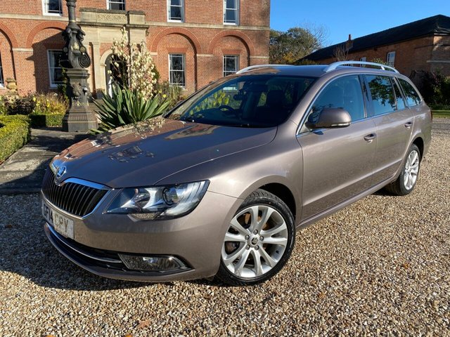 2014 14 SKODA SUPERB 2.0 SE TDI CR DSG 5d 139 BHP