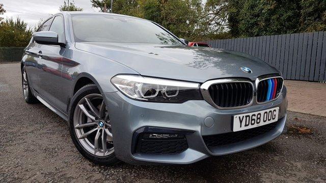 2018 68 BMW 5 SERIES 520D XDRIVE M SPORT 4d 188 BHP