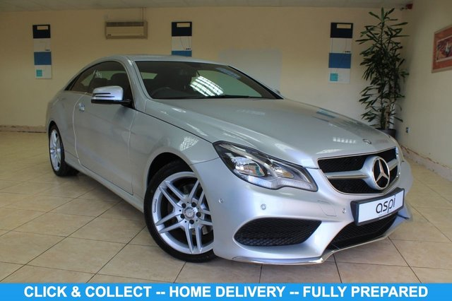 USED 2014 14 MERCEDES-BENZ E-CLASS 2.1 E220 CDI AMG SPORT 2d 170 BHP BLACK ANTHRACITE LEATHER, SATELLITE NAVIGATION, ACTIVE PARK ASSIST, AMG STYLING PACKAGE, CRUISE CONTROL, CLIMATE CONTROL, HEATED FRONT SEATS, AMG SPORTS PACKAGE,