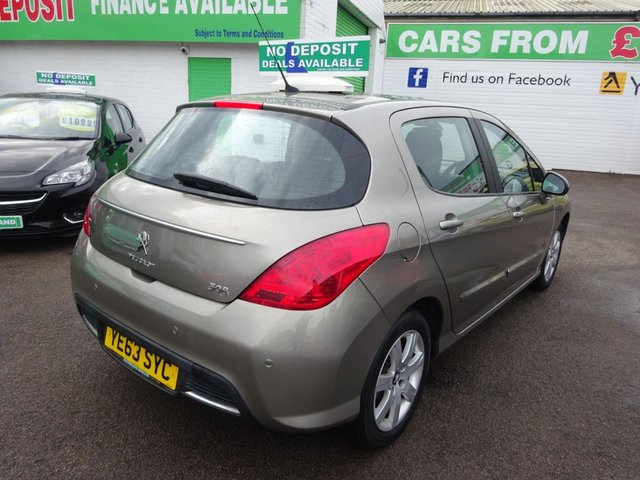 USED 2013 63 PEUGEOT 308 1.6 HDI ACTIVE NAVIGATION VERSION 5d 92 BHP **ONLY 12,000 MILES FROM NEW..SAT NAV...JUST ARRIVED...**