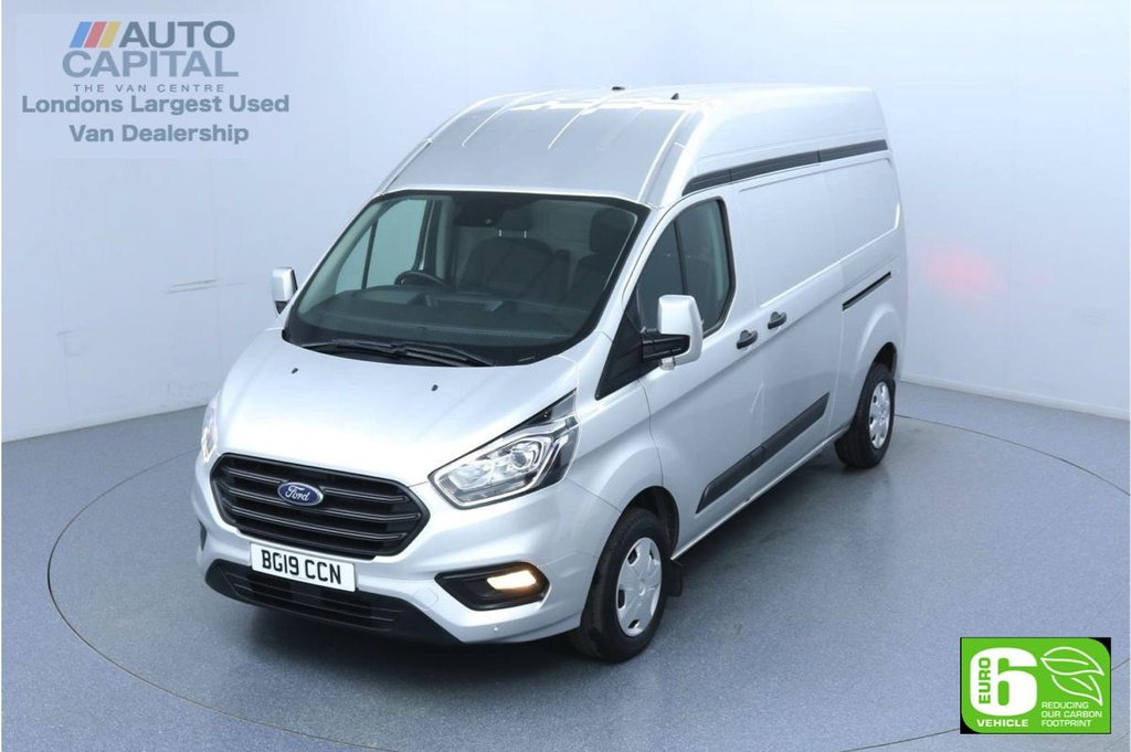 USED 2019 19 FORD TRANSIT CUSTOM 2.0 300 Trend L2 H2 130 BHP Euro 6 Low Emission Finance Available Online | Front and rear parking sensors | UK Delivery