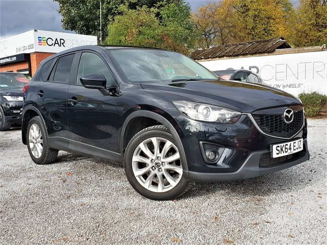 USED 2014 64 MAZDA CX-5 2.2 D SPORT 5d 173 BHP 1 PREVIOUS OWNERS + TOP SPEC