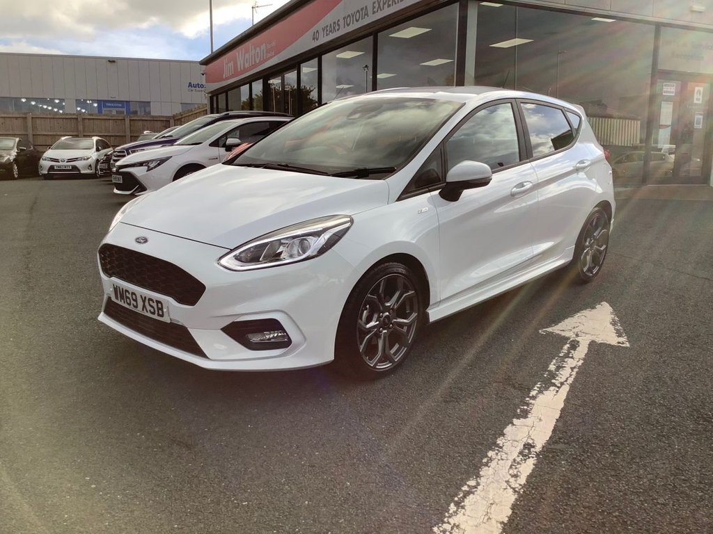 USED 2020 69 FORD FIESTA 1.0 ST-LINE 5d 124 BHP