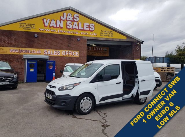 USED 2017 17 FORD TRANSIT CONNECT T200 L1H1 1.5 TDCI 2017/17 REG 1 P.L.C OWNER  #### LOTS MORE ON SITE ALL MODELS BIG OR SMALL ####
