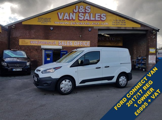 USED 2017 17 FORD TRANSIT CONNECT 1.5 200 P/V SWB 1 OWNER 77000 MLS # FREE WARRANTY # ###### BIG STOCK OVER VANS OVER 100 ON SITE #######