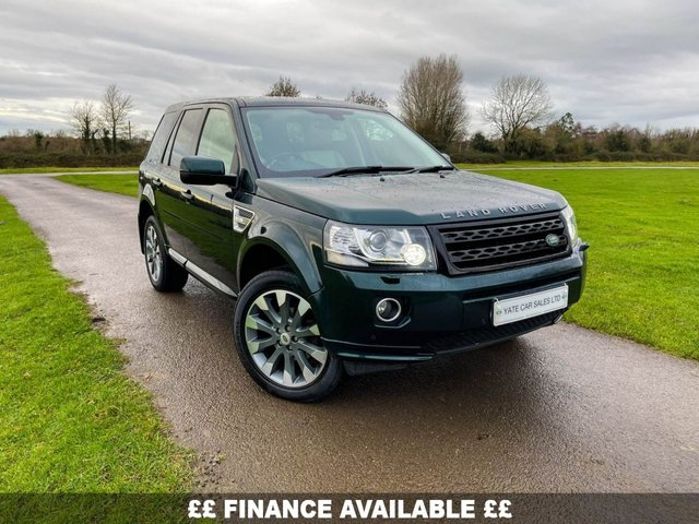 2013 63 LAND ROVER FREELANDER 2 2.2 SD4 HSE LUXURY 5d 190 BHP (FREE 2 YEAR WARRANTY)